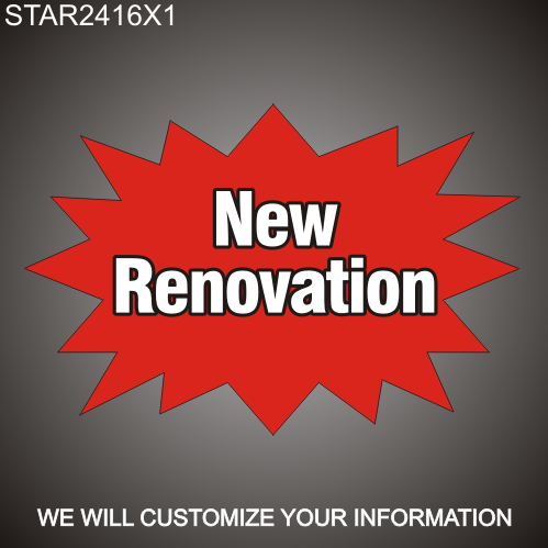 New Renovation 16in x 24in