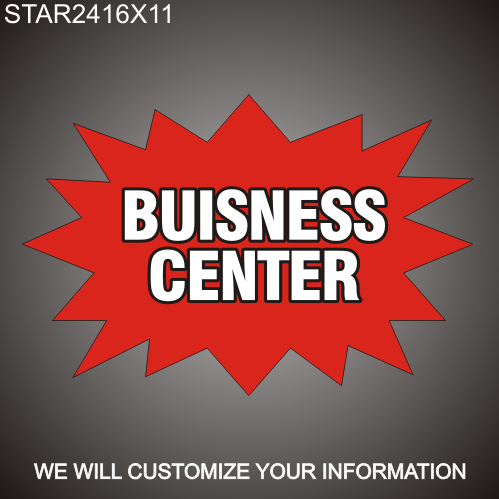 Business Center 16in x 24in
