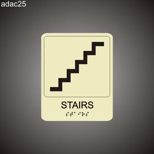 Stairs 7in x 8in