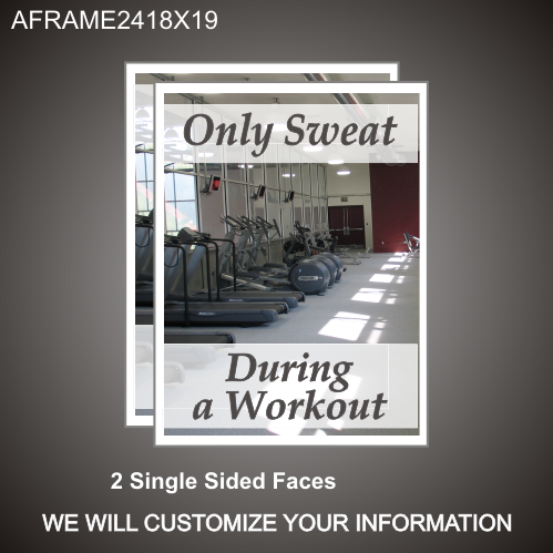Workout 24in x 18in