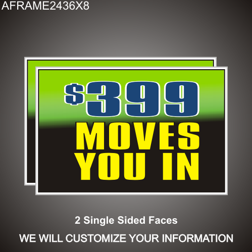 Move In Special 24in x 36in