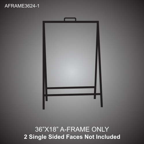 A-Frame Stand 36in x 24in