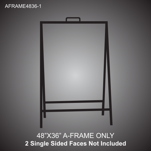 A-Frame Stand 48in x 36in
