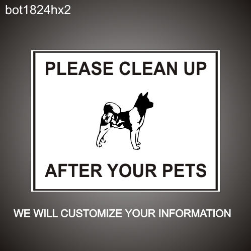 Clean After Pets 18in x 24in