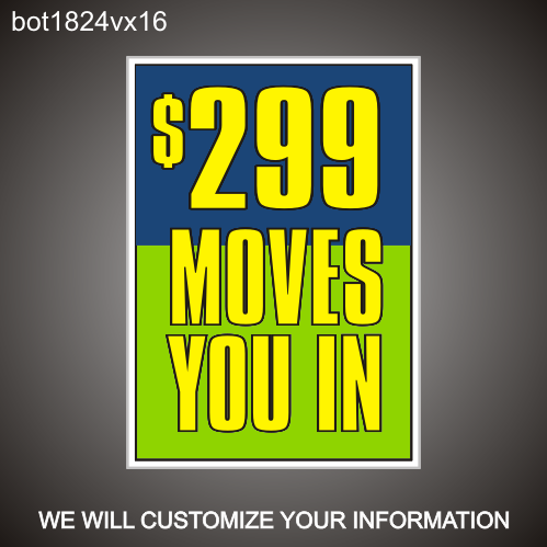 Move In Special 24in x 18in