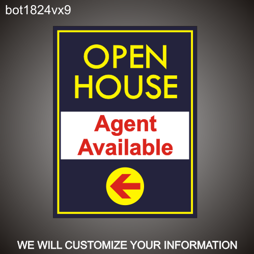 Open House 24in x 18in