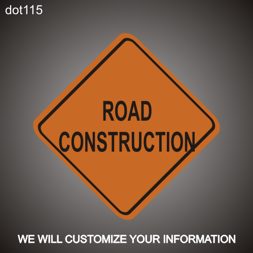 Road Work RA 36in x 36in