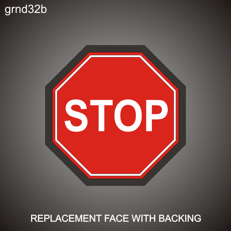 Stop Sign Face/Back 24in x 24in