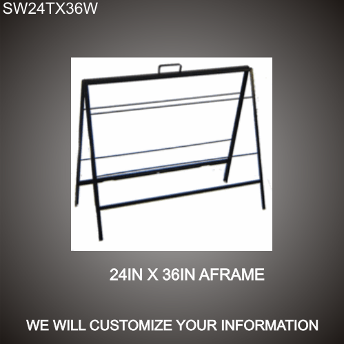A-Frame Stand 24in x 36in