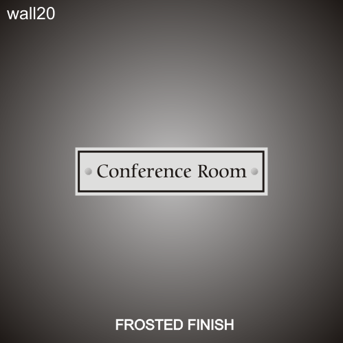 Conference Room 3in x 12in