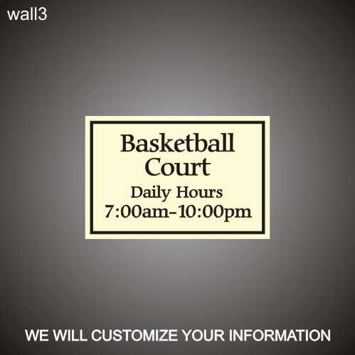 Basketball Hours 12in x 18in