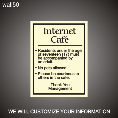 Internet Cafe 18in x 24in