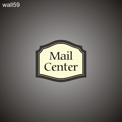 Mail Center ID 12in x 14in