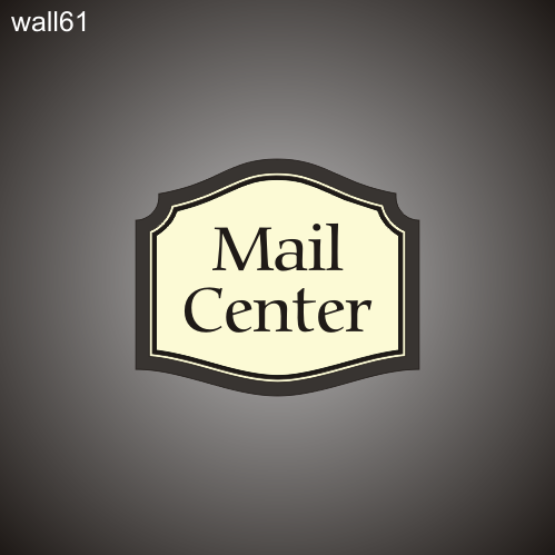 Mail Center ID 16in x 19in