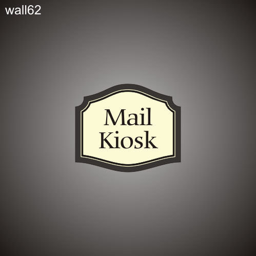 Mail Kiosk ID 12in x 14in