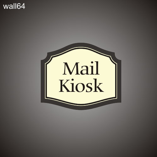 Mail Kiosk ID 16in x 19in