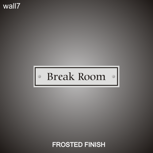 Break Room 3in x 12in