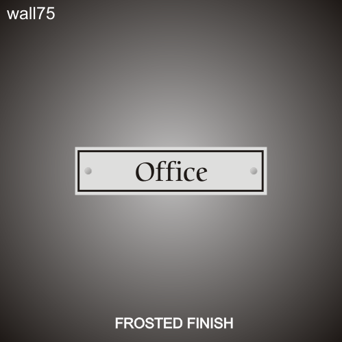 Office ID 3in x 12in