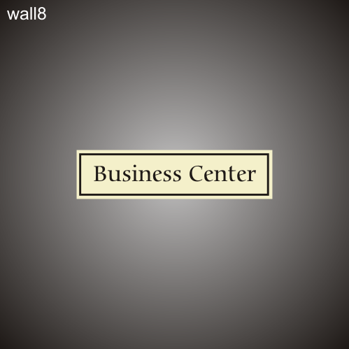 Business Center 3in x 12in