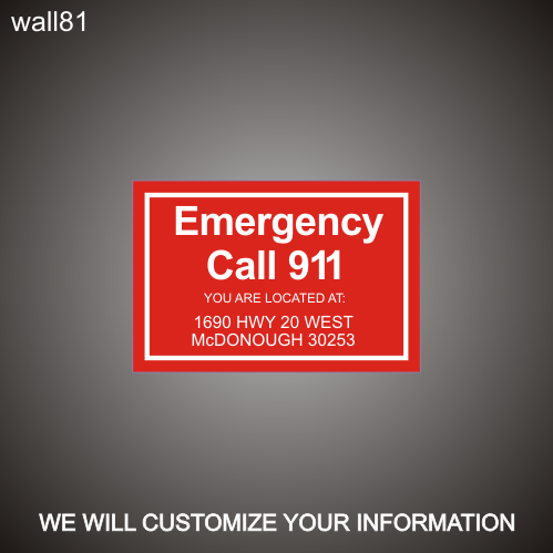 Pool 911 Call 12in x 18in